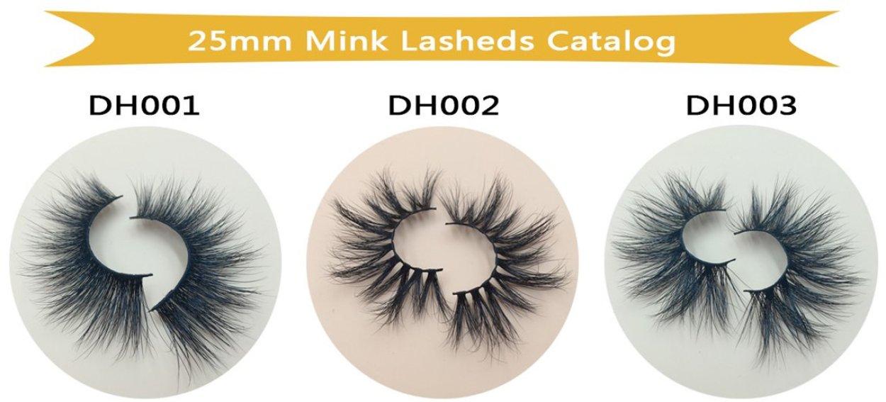 Wholesale lash vendors wholesale 25mm mink lashes