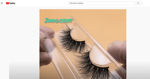 Use video to check whether your lash supplier is really reliable and learn more about the lashes supplier's products.