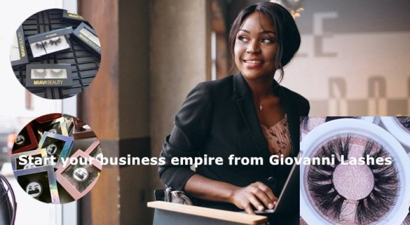 Giovanni Lashes focuses on helping young women start their own businesses. Many black female businesses have gained their own business and money with the help of Giovanni Lashes.