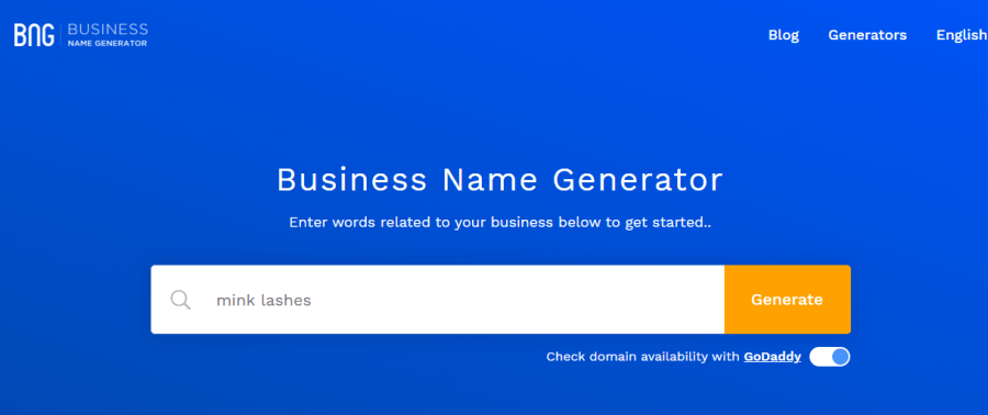 you can easily generate attractive lashes business names online.