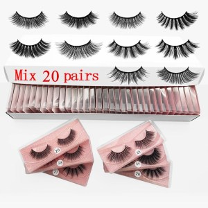 Lashes Beginner Package–Faux Mink Eyelashes 20 Piar Only $38.6