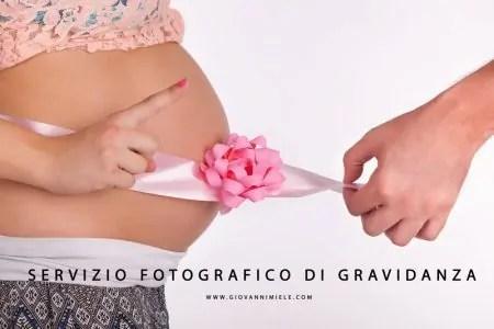 Servizio Fotografico Maternità