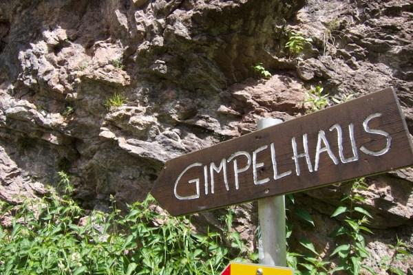 Weg zum Gimpelhaus im Tannheimer Tal