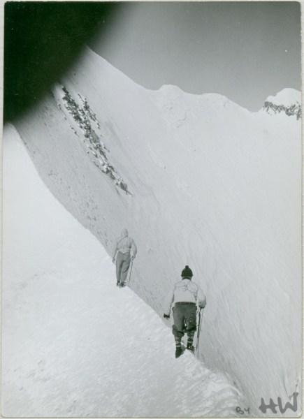 Piz Bernina Gipfelgrat