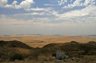 Ausblick vom Spreetshoogte Pass - Namibia