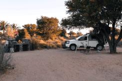 Campsite hinterm Canyon Roadhouse, Namibia