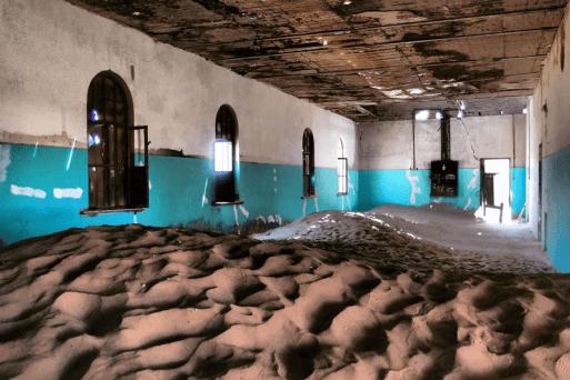 Die Bäckerei in Kolmanskop
