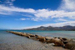 Ein herrliche Bucht für lange, ausgedehnte Strandspaziergänge.