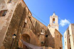 Altstadt in der Zitadelle von Calvi