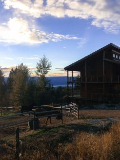 Die Myra Canyon Ranch in Kelowna, British Columbia