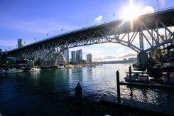 Brücke nach Granville Island, Vancouver, British Columbia