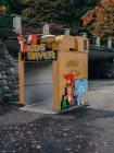 Wasserspielplatz im Stanley Park, Vancouver, British Columbia