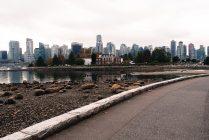Ausblick auf Downtown Vancouver vom Stanley Park aus