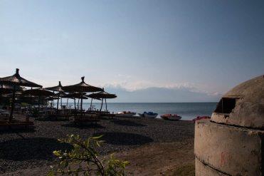 Bunker am Strand, Albanien