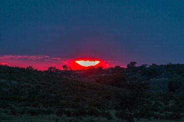 Sonnenaufgang Mata Mata, Kgalagadi