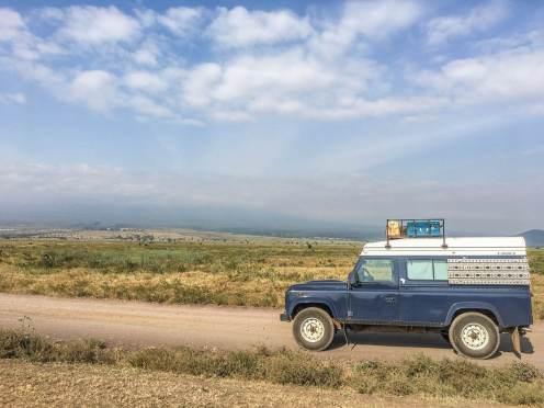 Am Kilimanjaro in Tansania