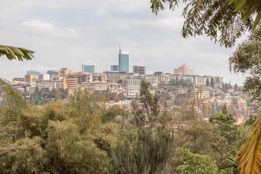 Reisebericht Ruanda: Die Skyline von Kigali