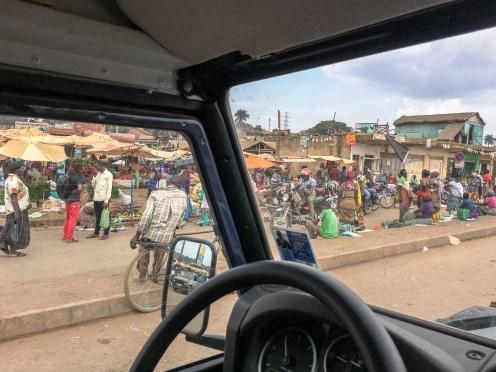 Uganda: Straßenmarkt in Kampala