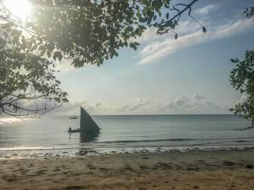 Dau vor der Küste Tansanias