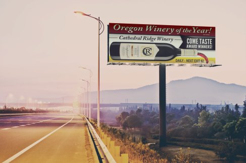 Cathedral Ridge Billboard | Oregon