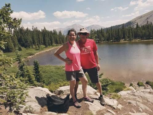 Parents at Ptarmigan Lake