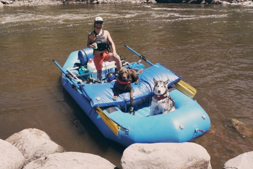 The rafting Crew