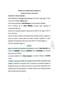 avvocato Laura Girelli Sara Girelli Studio legale Girelli Brescia sovraindebitamento Legge 3/2012 liquidazione del patrimonio
