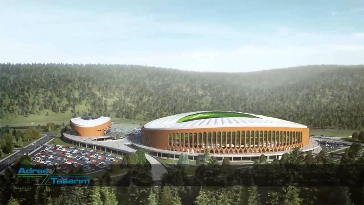 Giresun Çotanak Arena Stadyum ve Olimpik Yüzme Havuzu Projesi