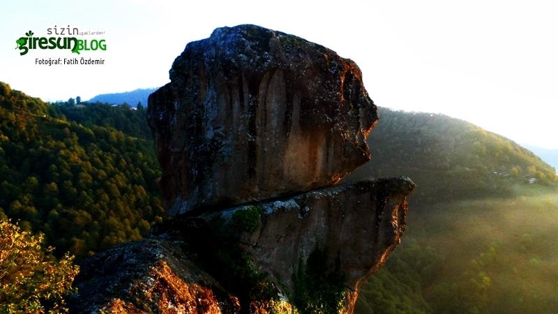 Kaynanadan kaçış! Bir Gelin Kayası efsanesi