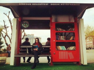 Giresun Sokak Kütüphanesi