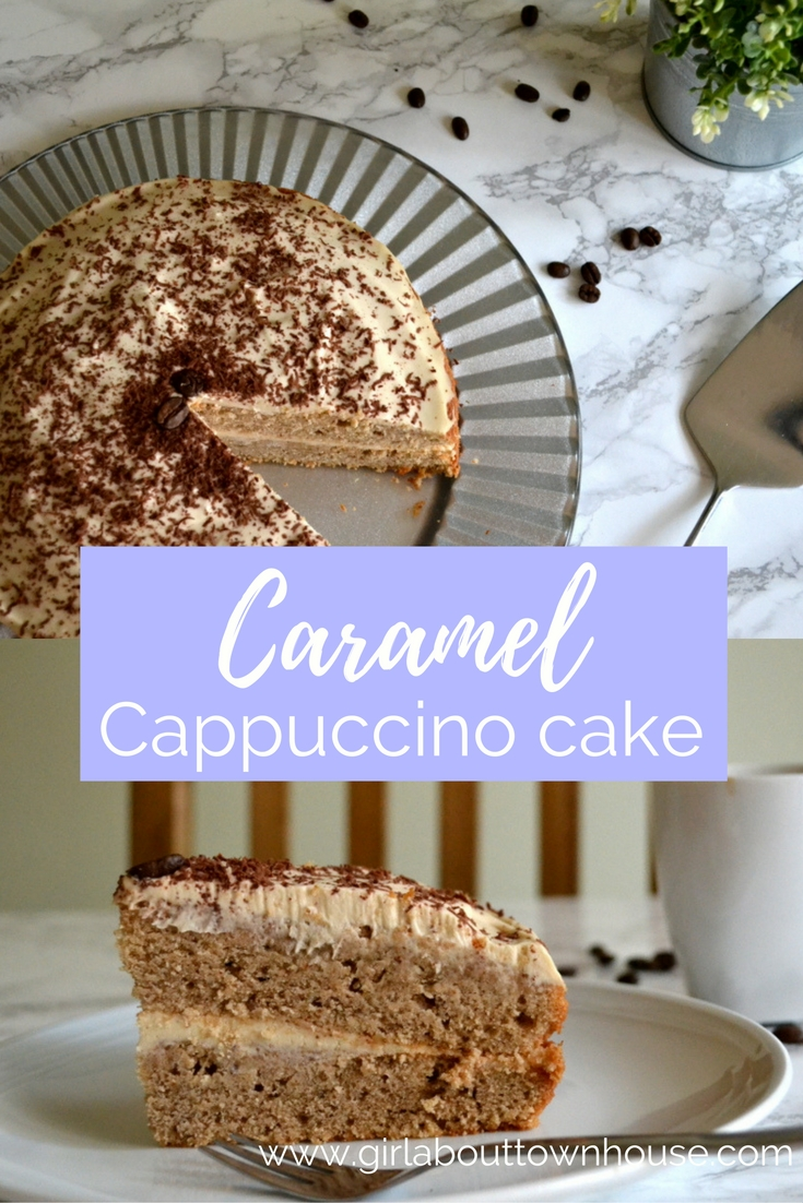 Caramel Cappuccino Cake - Girl about townhouse