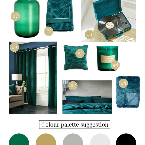 Emerald Green Colour Crush - Girl about townhouse