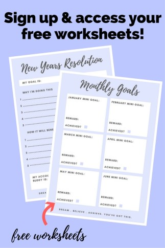 How to keep you new years resolution - Girl about townhouse