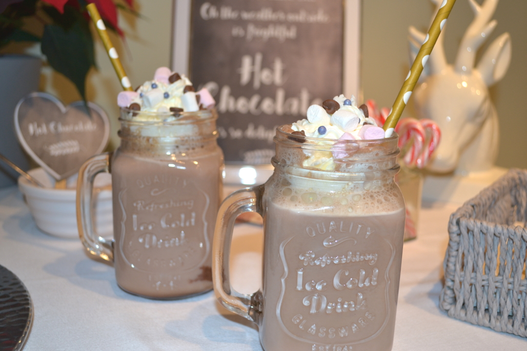 Hot Chocolate Bar - Girl aboout townhouse
