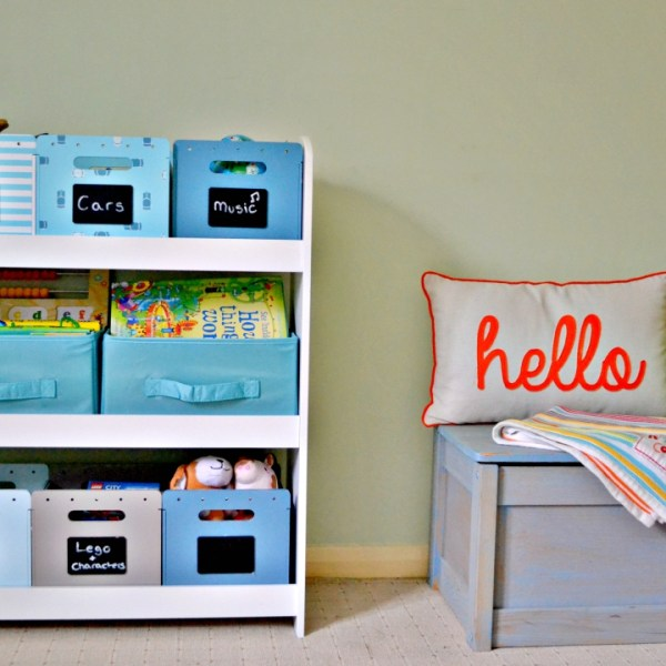 How to keep your home tidy when you have kids - Girl about townhouse