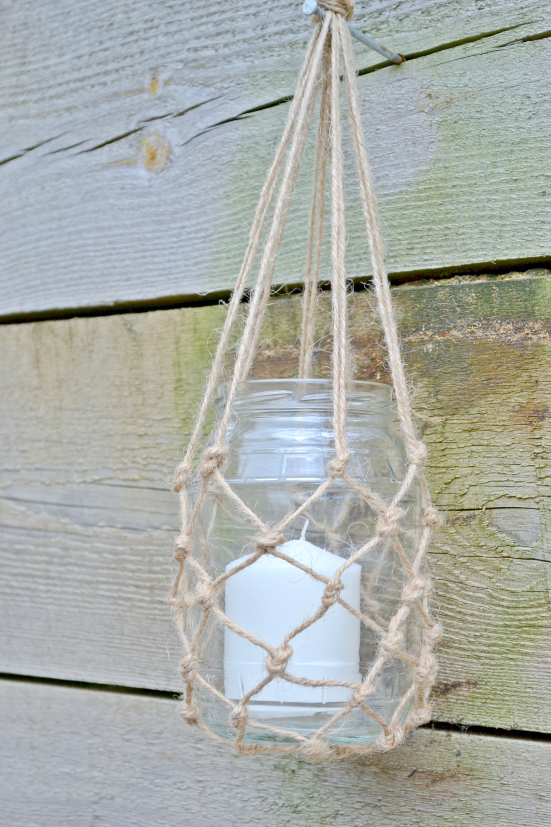 Macrame How To Hanging Lantern Jars Girl About Townhouse