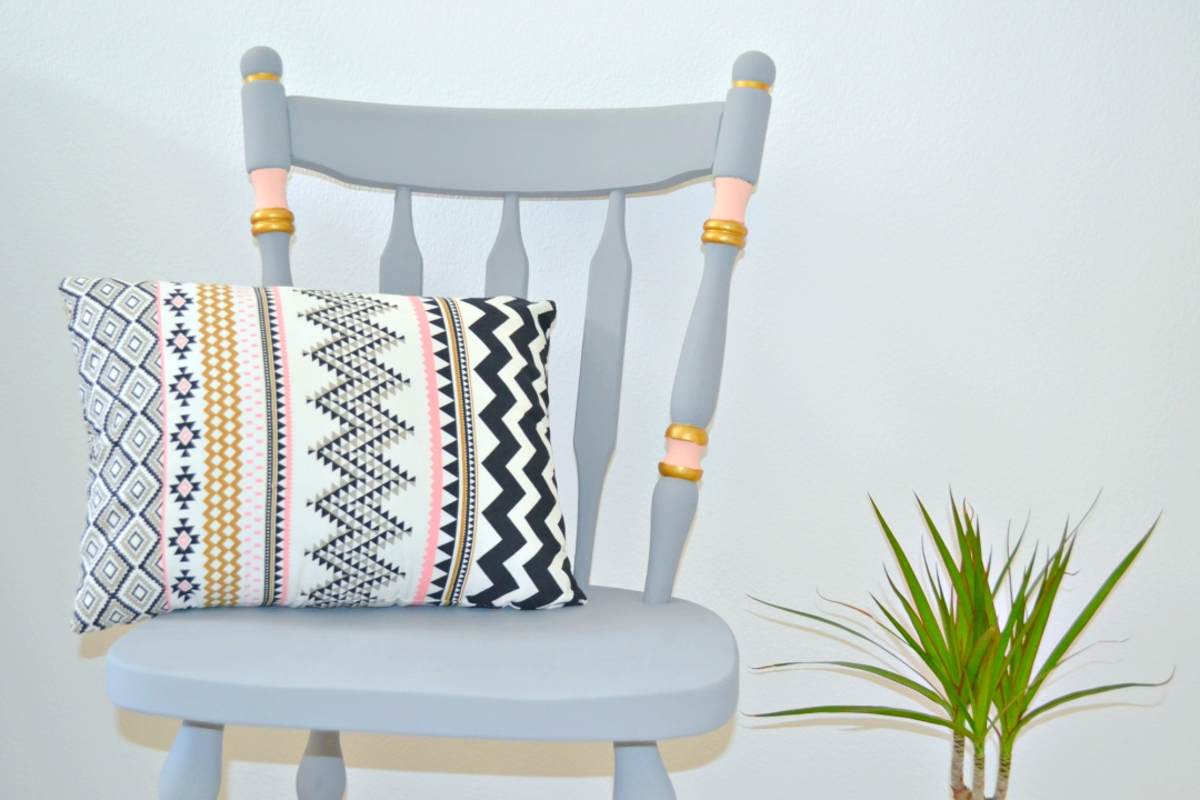 Upcycling Ideas Chalk Paint Chair Makeover Girl About Townhouse