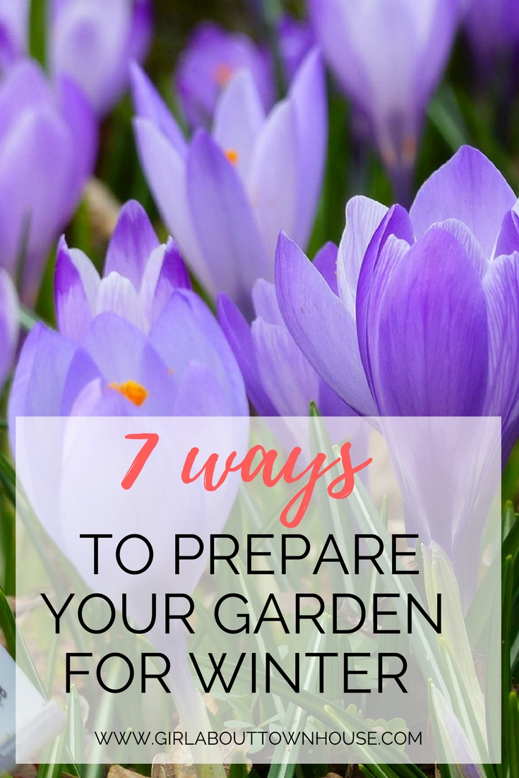 7 Ways To Prepare Your Garden For Winter Girl About Townhouse