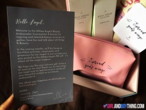 Unboxing my Althea Angels' Welcome Gift + Shopping Haul