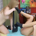 Scarlett Sage and Dolly Leigh