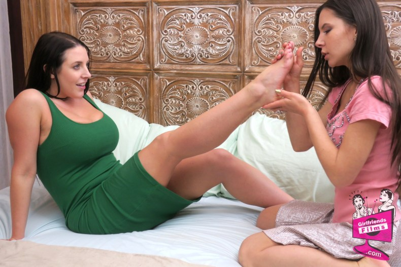 Angela White and Milana May