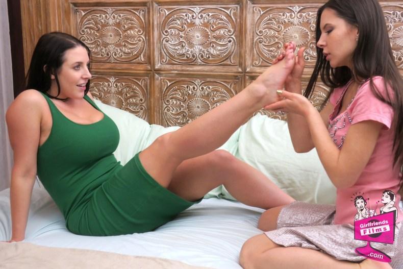 Angela White and Milana May