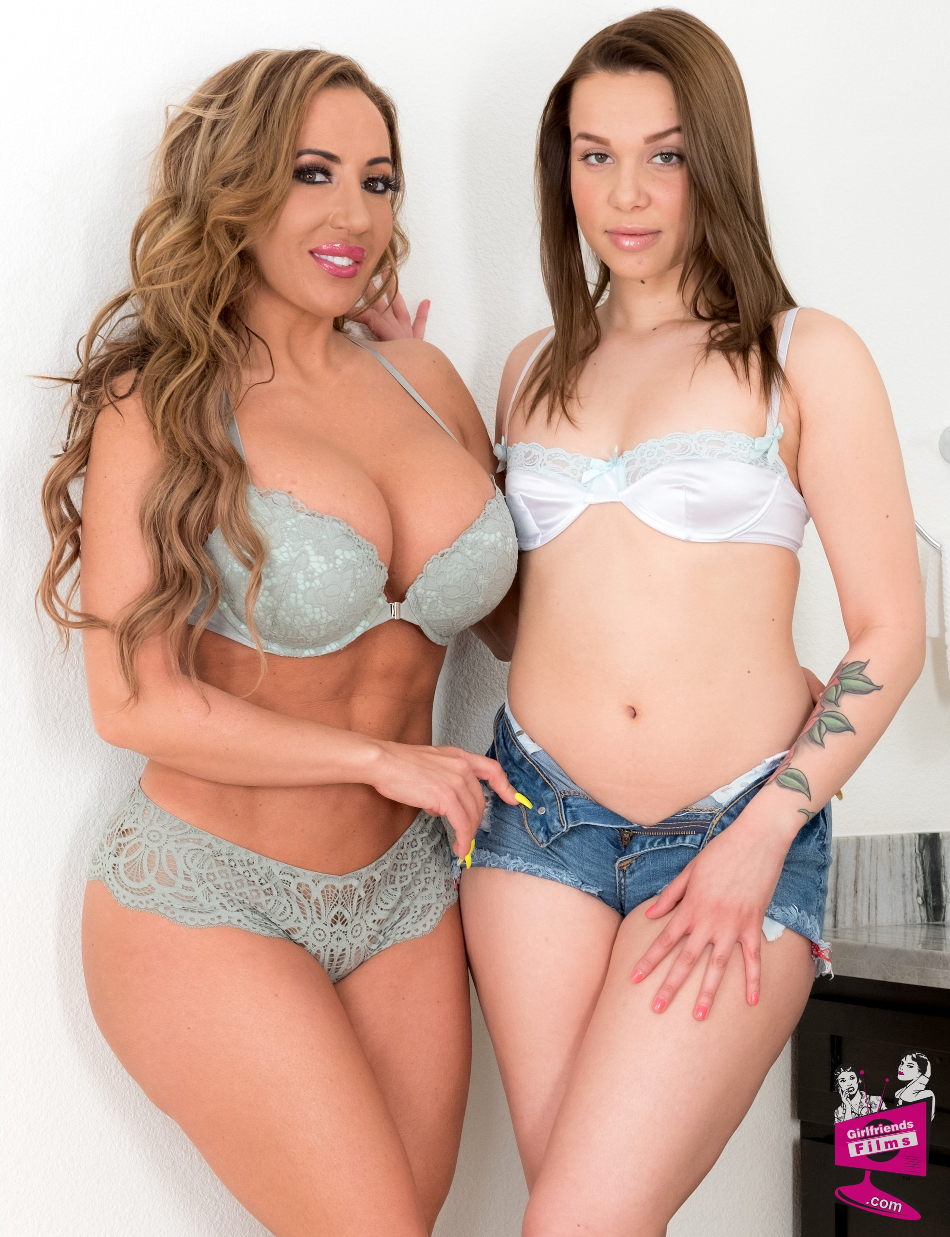 Richelle Ryan and Liza Rowe
