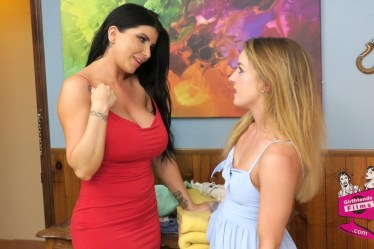 Romi Rain and Kate Kennedy