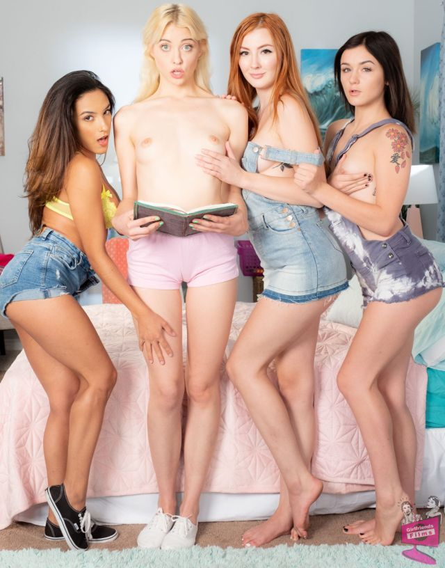 Cast of Secret Lesbian Diaries 7