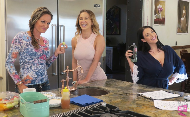 Prinzzess, Cherie DeVille, and Angela White