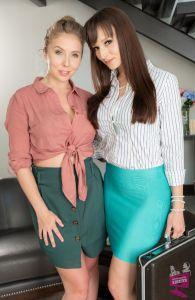 Lena Paul and Lexi Luna