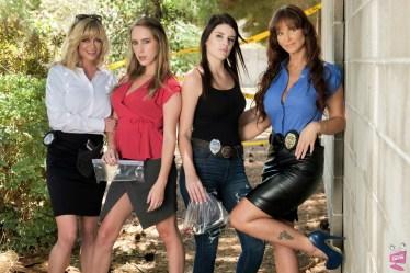 Lesbian Crime Stories 4 Cast