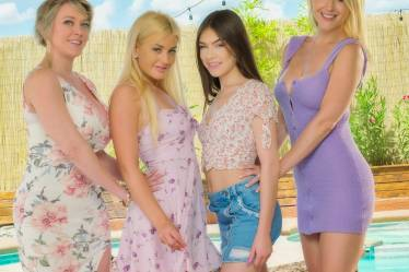 Cast of Mother Daughter Exchange Club Girlfriends Films 59