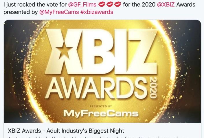 Girlfriends Films XBIZ Awards